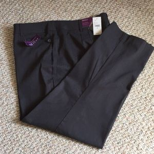 lanebryant Sz 20P Charcoal gray dress pants